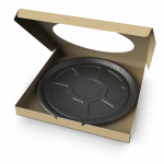 Dual Ovenable Pizza Tray