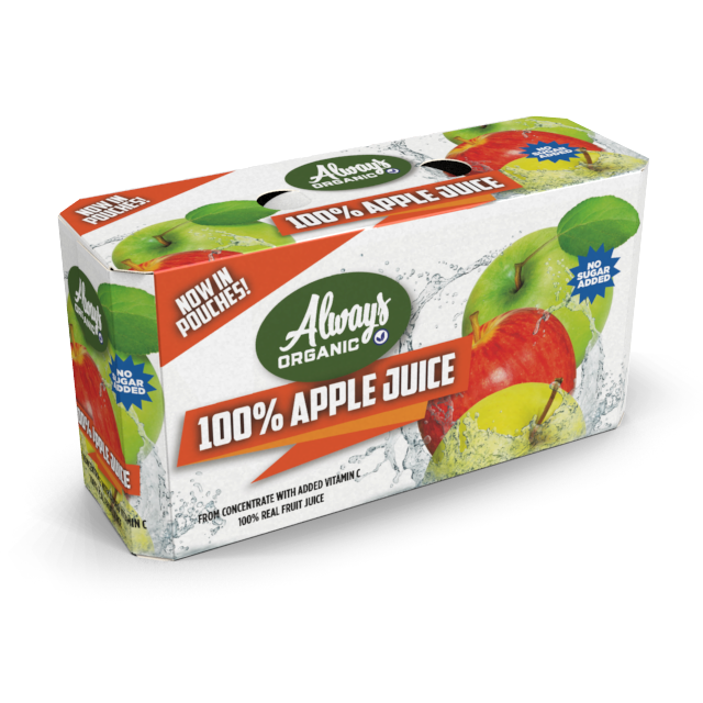 Heavyweight Folding Cartons Strength Juice Pouches