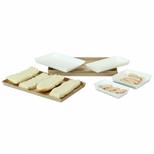 Veltone Poly-Coated Food Trays