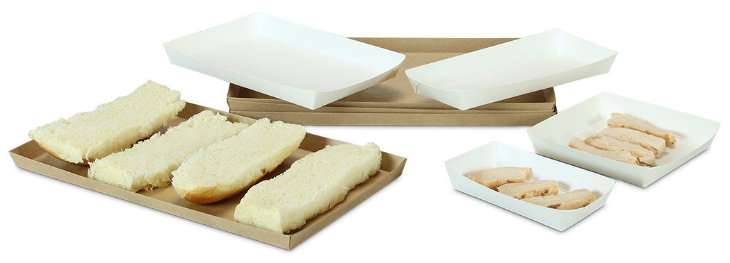 Veltone Poly Coated Food Utility Trays