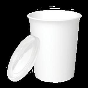Emballages combinés de contenants alimentaires cylindriques