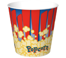 Popcorn Buckets, Tubs, Boxes and Scoops