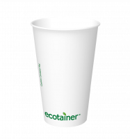 ecotainer™ hot cup in Carte Blanc