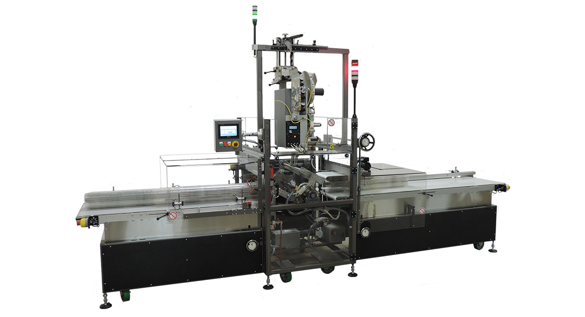 High Speed Clamshell Labeling System