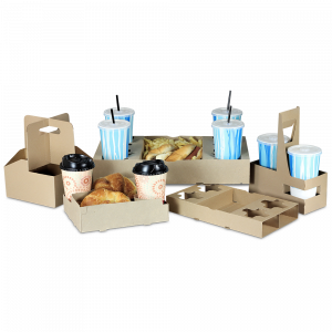 Carryout Trays and Cup Carriers