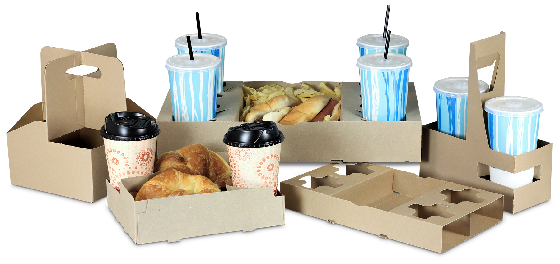 Carryout Trays & Cup Carriers
