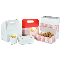 Fast Food and Deli Takeout Cartons