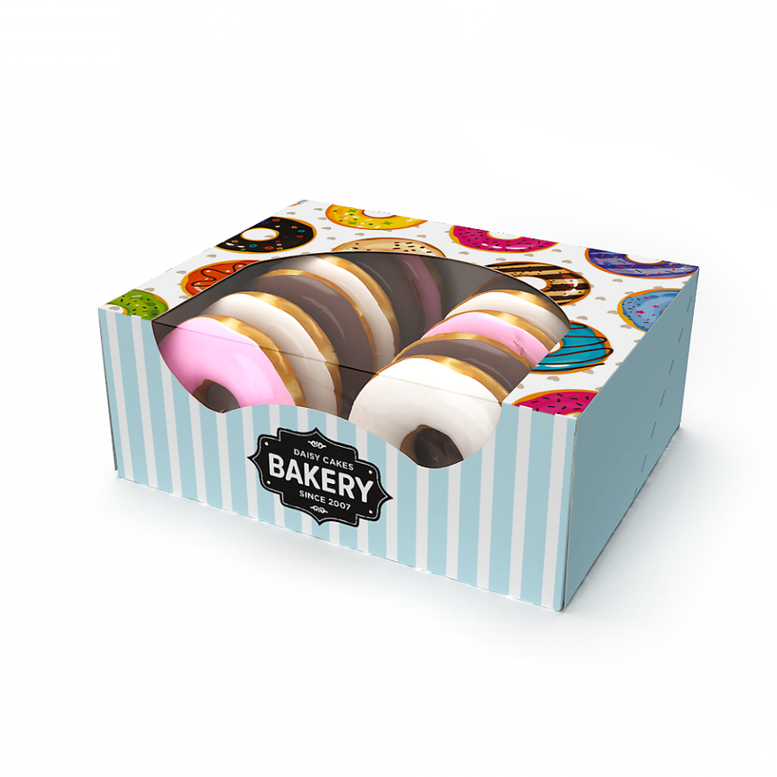 Bakery boxes from Graphic Packaging International