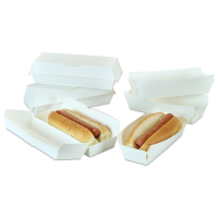 Barquettes à hot-dog