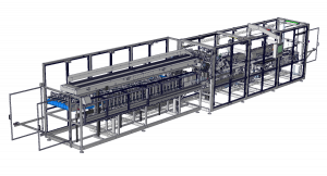 Sistema de empaque de tazones apilados MarksmanSB